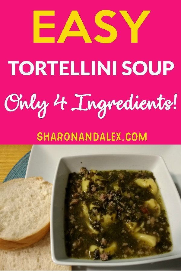 Any time is a great time for soup in my opinion. This 4 ingredient tortellini soup is so easy, your family will think you slaved over a hot stove all day.