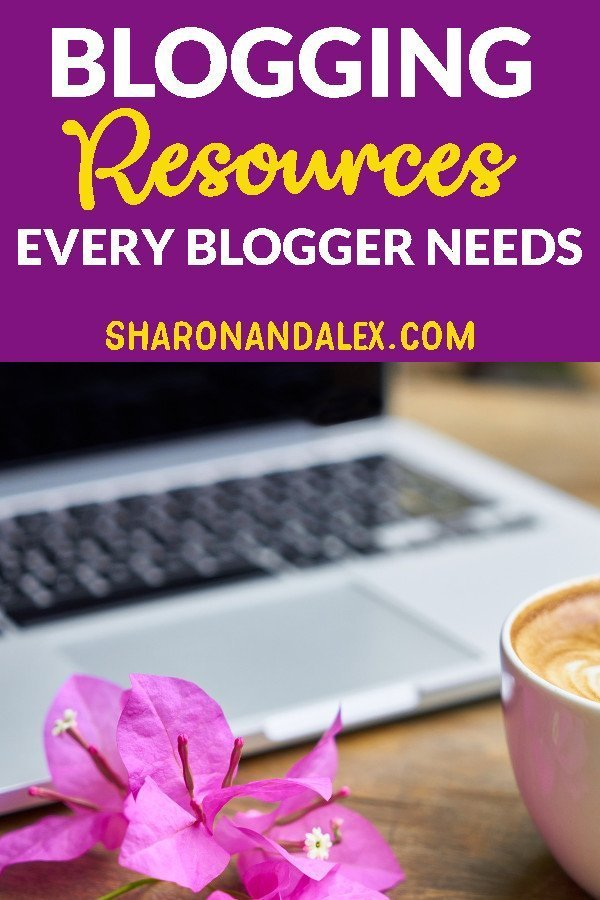 There are so many tools and choices available to bloggers it can be overwhelming to know which ones are the best. Here's my list of blogging resources that I can't live without. #bloggingtips #blogging #bloggingresources
