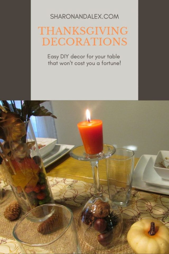 Easy DIY Thanksgiving Table Decorations That Don't Cost a Fortune