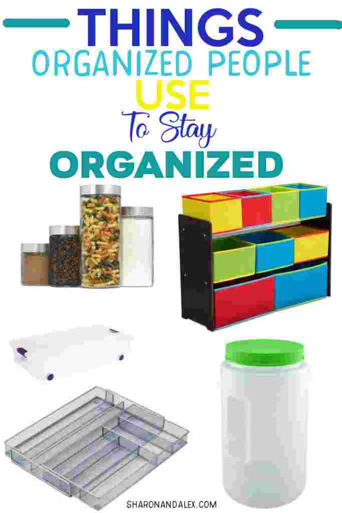 Some people just seem have it all together and manage to keep things neat and organized. You can be one of those people with some of these products. Check out these organization ideas to make it easy to stay organized all of the time. #organziation #organizationproducts #homeorganization #organizing #organizationtips