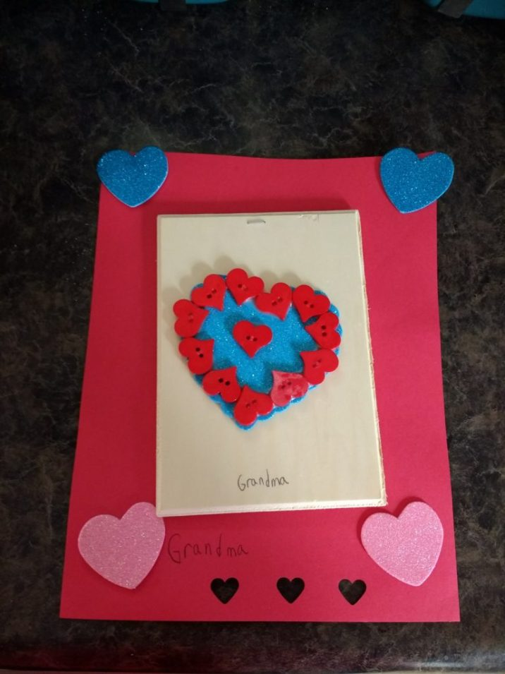 Valentine's Day Child Art