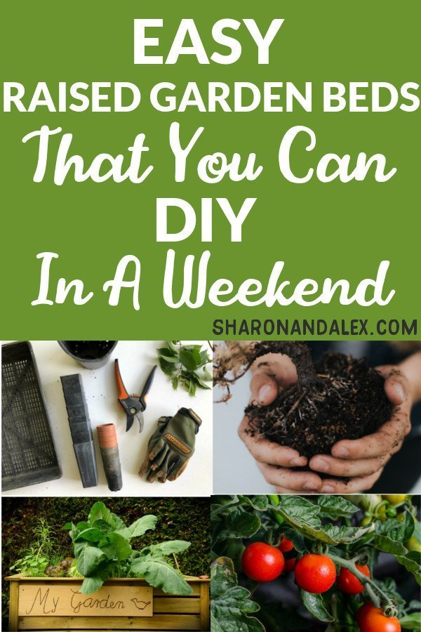 Are you looking for information on how to make your own raised garden beds? I've rounded up some of my favorite ideas for raised gardens. Click through to find out how!