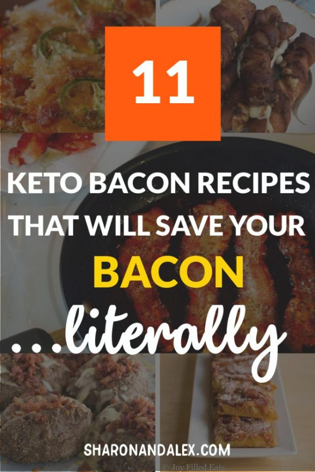 Bacon lovers rejoice! If you're on the keto diet, bacon is one food that's totally acceptable! Check out these amazing keto bacon recipes for creative and delicious ways to eat bacon. #keto #ketodiet #ketorecipes #bacon #baconrecipes #ketogenicdiet