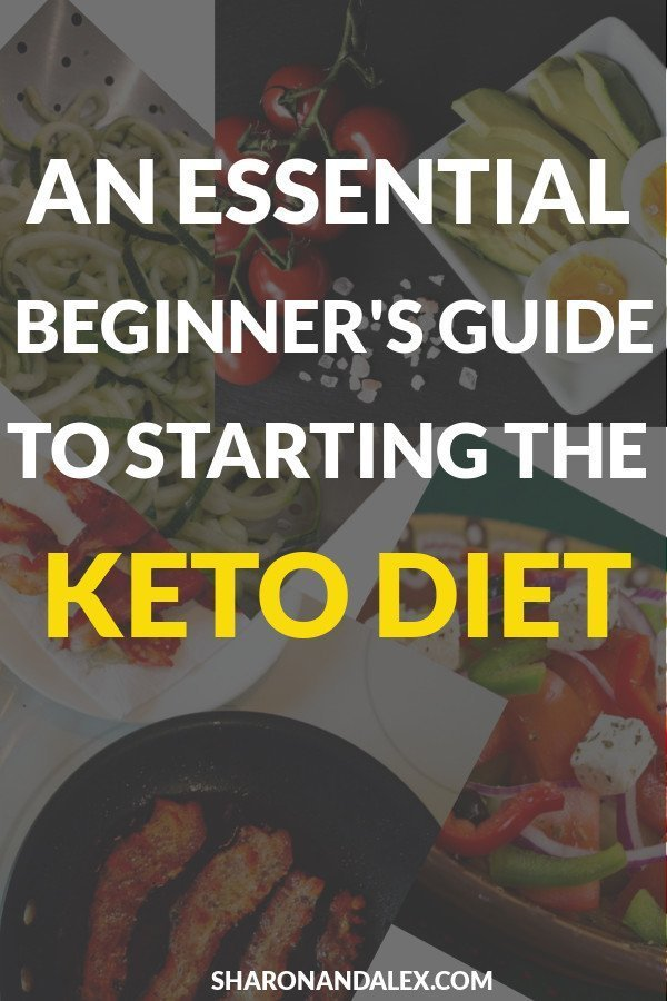 An Essential Beginner's Guide to Starting the Keto Diet: Are you just starting your keto diet? Kickstart your weight loss journey with this guide on the ketogenic diet. #keto #ketodiet #ketodiettips #ketogenicdiet #ketogenic