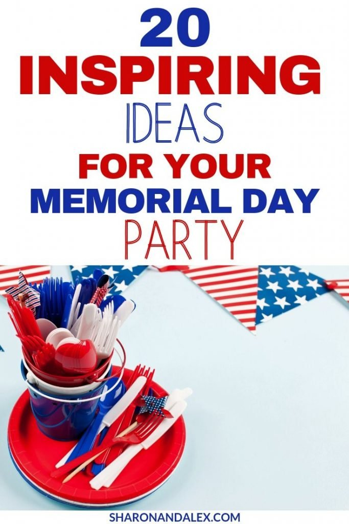 Kick up your Memorial Day party a notch with these creative ideas that are sure to make your party a hit!