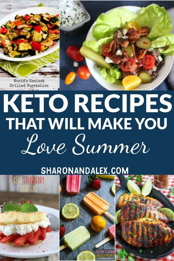 Summer fun means cookouts, barbecues, parties and fun times. These summer keto recipes will make sticking to the keto diet easy. #keto #ketorecipes #ketogenicdiet #summerketorecipes