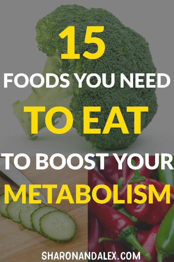 15 foods to boost metabolism, fight disease, and keep you at the top of your game.