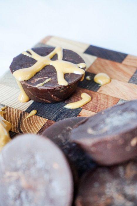 Keto Fat Bombs - Chocolate Peanut Butter Fat Bombs