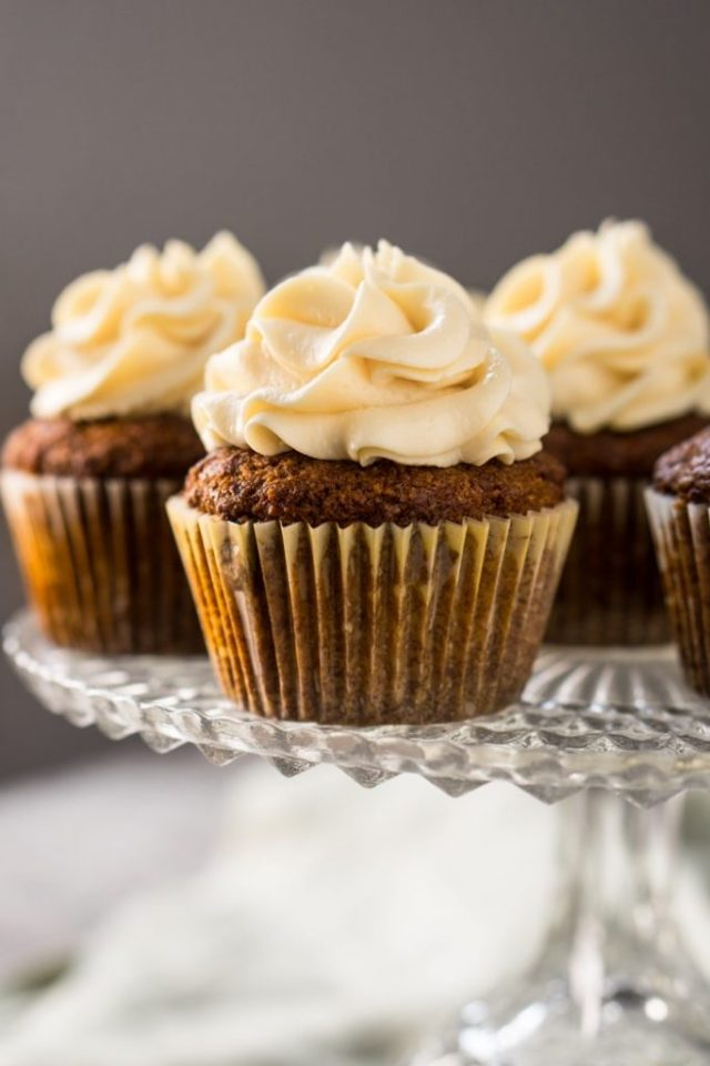 Low Carb Birthday Treats - Low Carb Carrot Cake Cupcakes