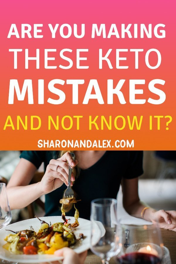 Are you making these common keto mistakes? Don't sweat it! The key to a successful keto diet is knowledge and planning. #keto #ketogenicdiet #ketomistakes #diettips #ketodiettips