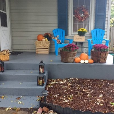 Paint a concrete porch