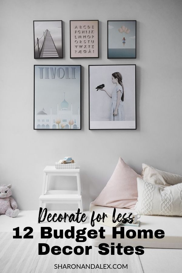 Decorate for Less - 12 Budget Home Decor Sites