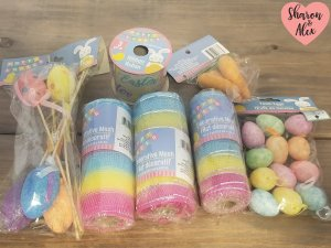 Easter Craft Supplies for Cricut Projects