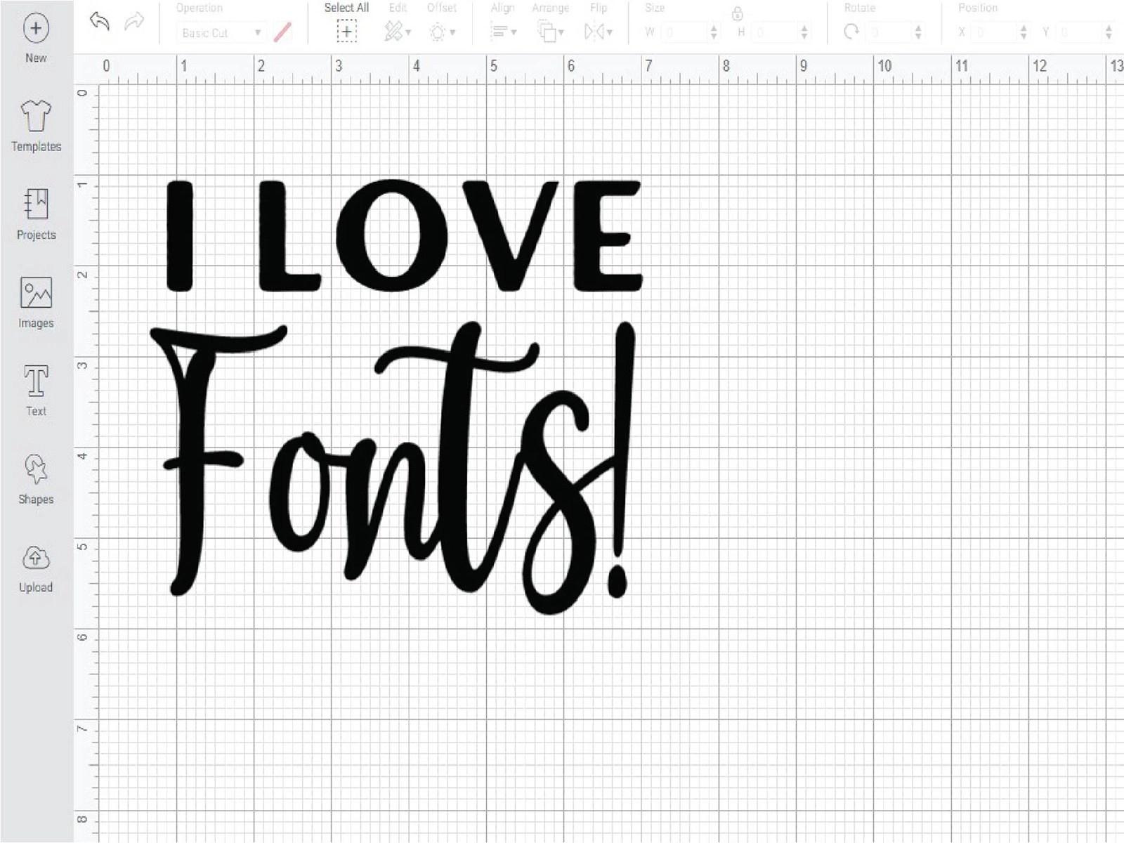 Adding Fonts to Cricut Design Space