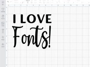 Adding Fonts to Cricut Design Space