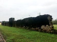 An original wall at the Citadel