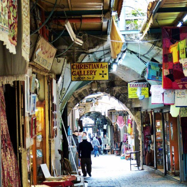 The Christian Quarter in the Old City, Jerusalem