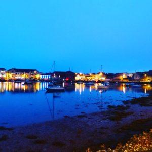 Dungarvan Harbour night