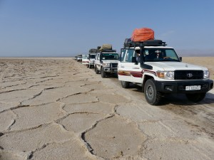 Lake Asale's dry salt pan