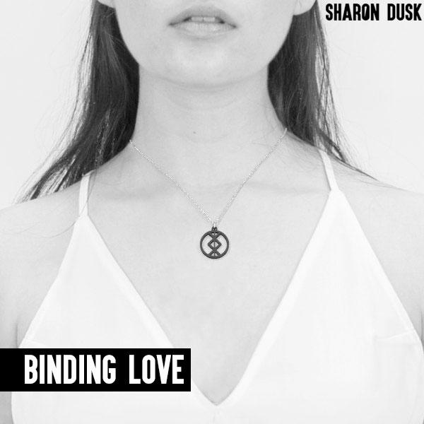 Binding love rune necklace design
