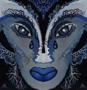 Woman Adorned Mask 2