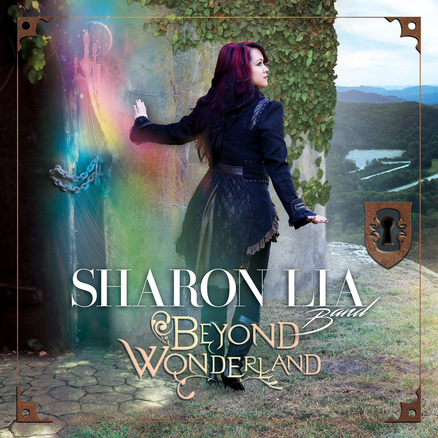 "Sharon Lia Band ""Beyond Wonderland"" Album cover"