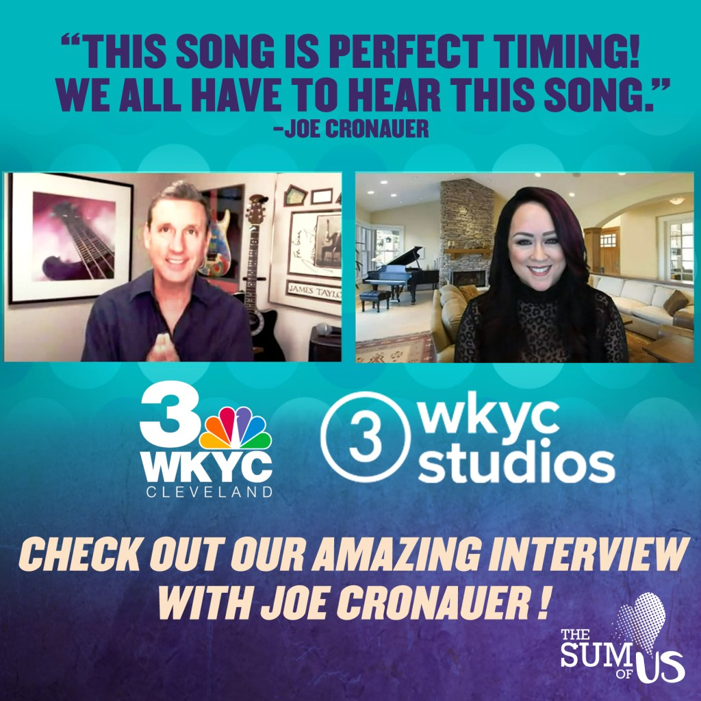 "Sharon Lia sits down with Joe Cronauer of NBC TV's WKYC ""Its About You"" show"