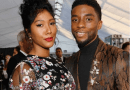 Late Chadwick Boseman's widow Simone, emotionally accepts his Golden Globe award