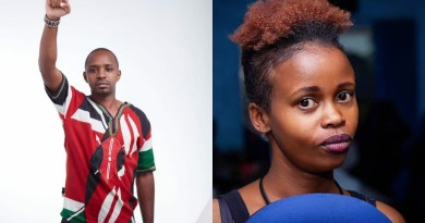 """I raised important issues, discuss that!"" Boniface Mwangi calls out Tina Kaggia."