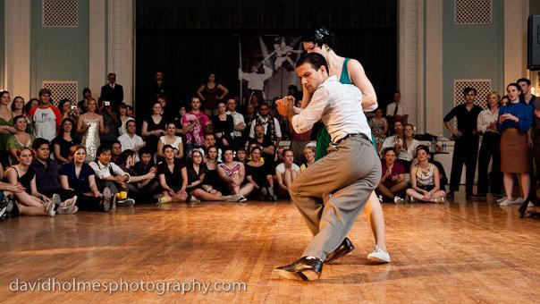 Lindy Hop at the Lonestar Championships, Austin Texas, January 2010 // Photo by David Holmes