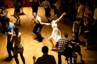 Social dancing at Stompology 2012, Rochester USA // Photo by Bobby Bonsey