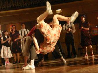 Dancing in the film Swan Song, Perth Australia