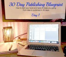 Day 1 – Organizing Your Work – 30 Day Publishing Blueprint