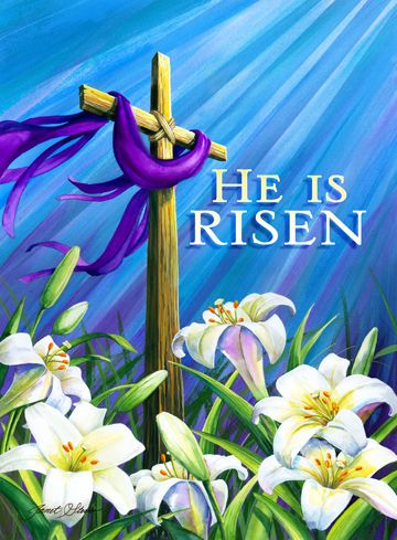 Christ the Lord is Risen Today Alleluia - Happy Easter 2017