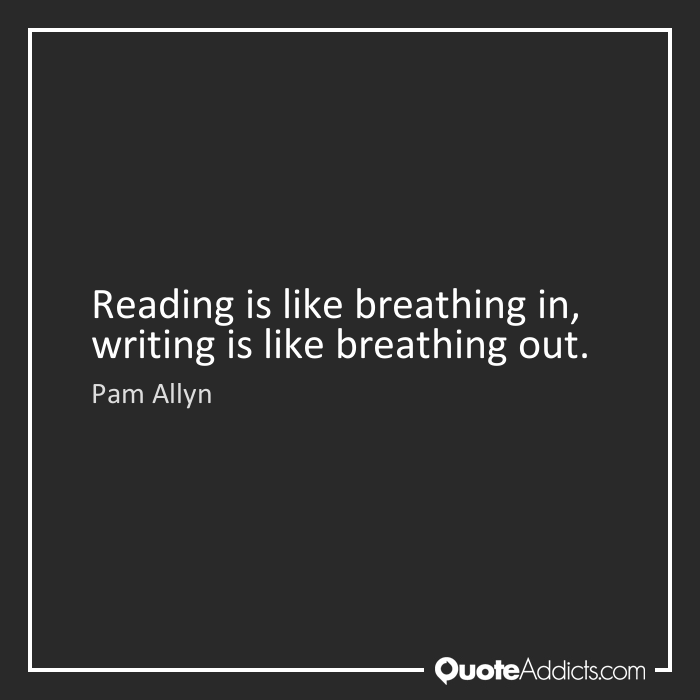 Quote: Pam Allyn on Reading, Writing and Breathing