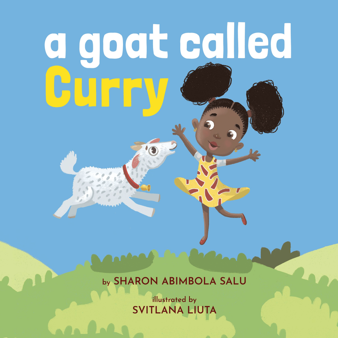 A Goat Called Curry - West African Dwarf Goat - African Picture Book - Black Childrens Book