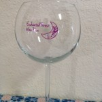 Enchanted Forest Wine Glass