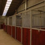 Steel Building Stables