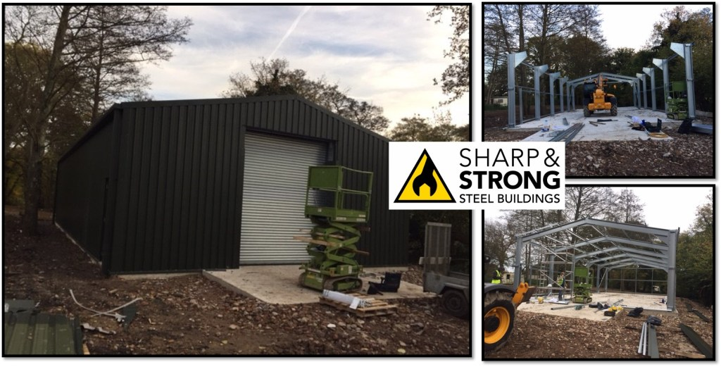 Steel Storage Building for Caravans