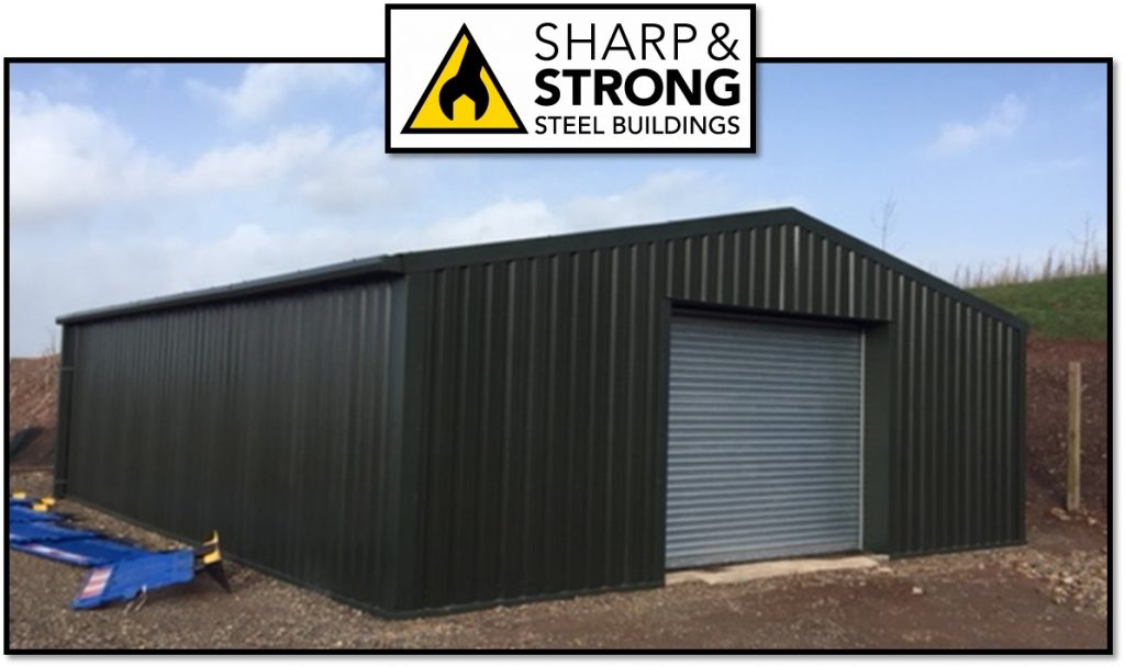 Steel Storage Building for National Park Resort
