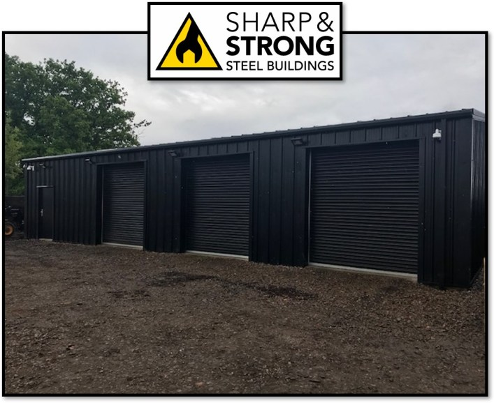 Insulated Storage Steel Building in Colchester