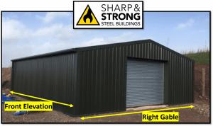 5 steps to basic steel framed buildings