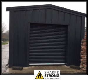 Steel Garage and Workshops
