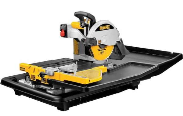 DEWALT D24000S Heavy-Duty 10-inch Wet Tile Saw with Stand 5