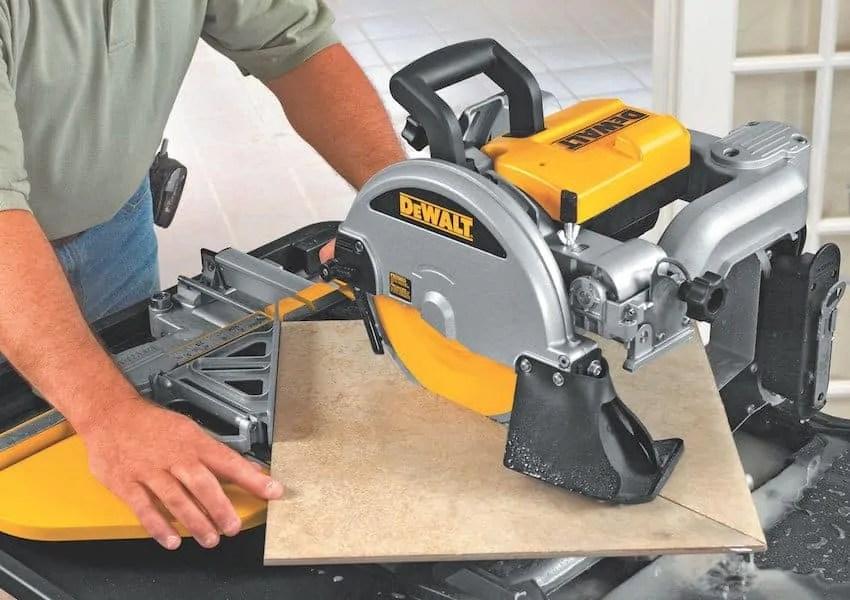 wet-saw