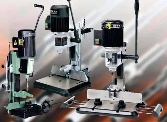 benchtop mortising machine