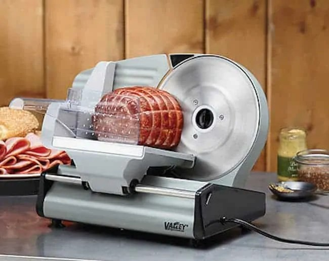 8.7in. Stainless Steel Electric Food Slicer 1