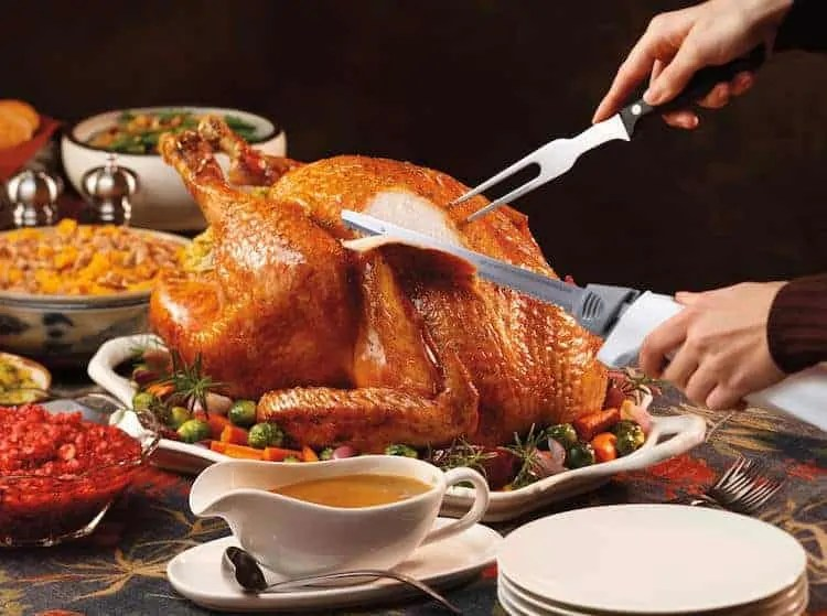 how to carve a turkey with an electric knife