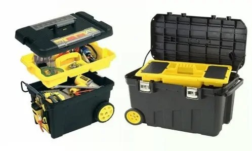 Tool Box With Wheels