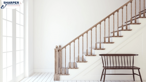 Should You Paint Or Stain Stairs And Railings In Your Home | Repairing Outdoor Wooden Steps | Stair Stringer | Concrete Slab | Deck Stairs | Concrete Porch | Deck